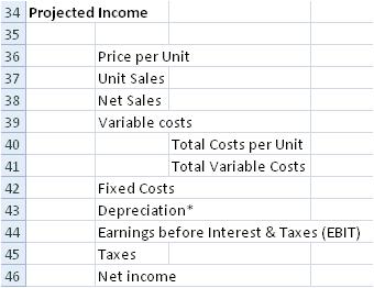 professional capital budgeting spreadsheet