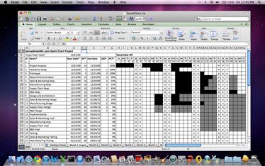 Professional gantt chart office for mac gantt chart spreadsheet office for mac os ccuart Images