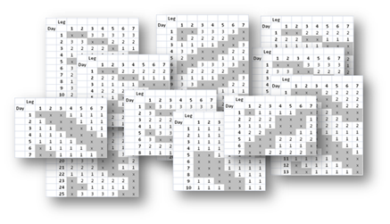 Employee Shift Scheduler Spreadsheet