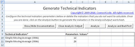 Strategy Backtesting in Excel
